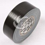 Rouleau de gaffer GAFF-TEC standard noir