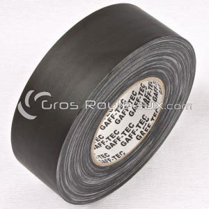 Rouleau de gaffer GAFF-TEC standard mat