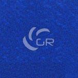 Moquette aiguilletée plat recyclable bleu royal