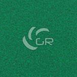 Moquette aiguilletée plat recyclable vert moyen