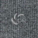 Moquette aiguilletée bouclé recyclable gris