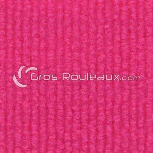 Moquette aiguilletée bouclé - Tons rose / violet