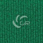 Moquette aiguilletée bouclé recyclable vert moyen