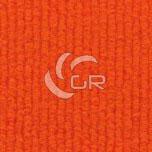 Moquette aiguilletée bouclé recyclable orange