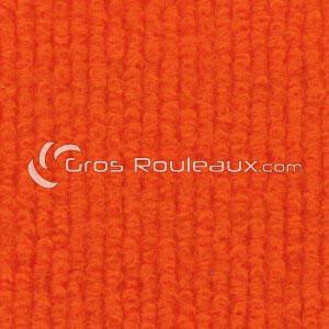 Moquette aiguilletée bouclé - Tons orange
