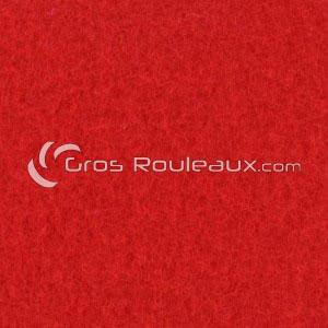 Moquette aiguilletée velours - Tons rouge