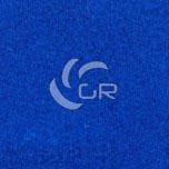 Moquette aiguilletée velours recyclable bleu saphire