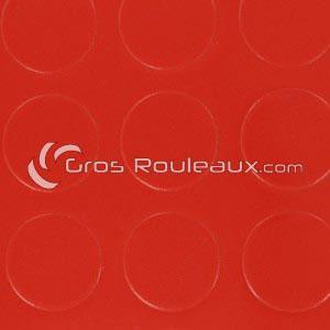 Revêtement sol PVC à pois rouge