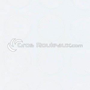 Revêtement sol PVC à pois blanc