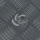 Revêtement sol PVC imitation métal couleur anthracite