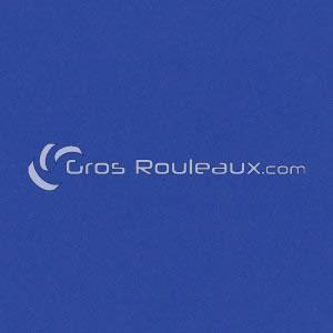 Revêtement sol PVC uni mat bleu