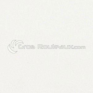 Revêtement sol PVC uni martelé blanc